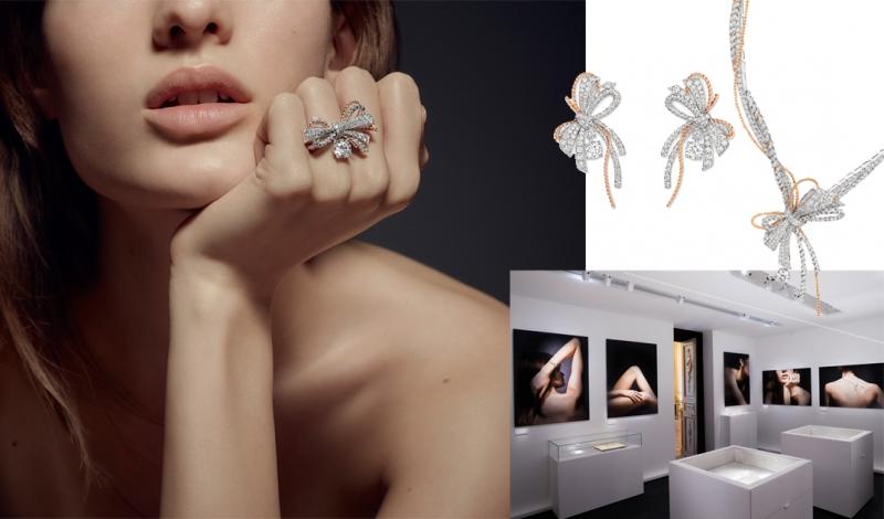 鑽石蝴蝶結交織出女人的魅力