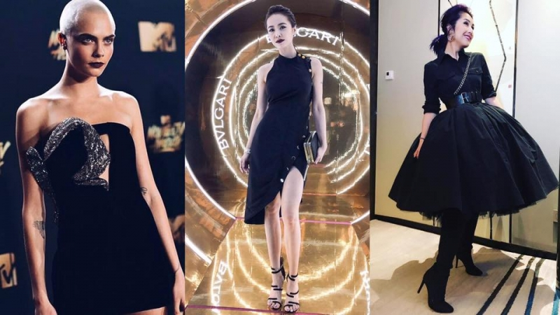 4個必學嘅Little Black Dress 造型tips!跟著千嬅、蔡依林打造不同風格的小黑裙造型