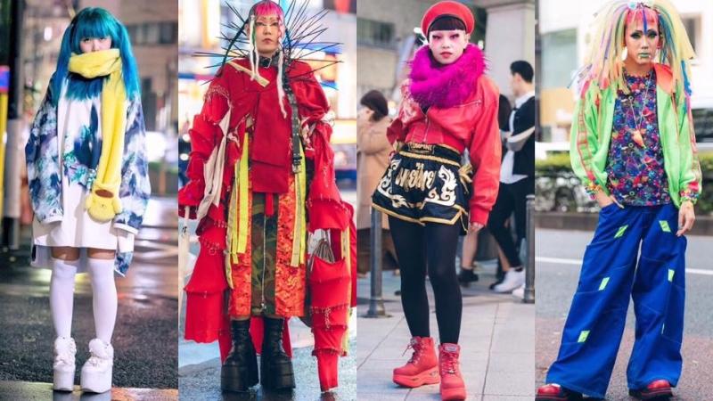 還在煩惱Halloween穿什麼?12個日系另類超浮誇造型任你揀