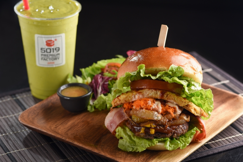 四國漢堡美味又健康