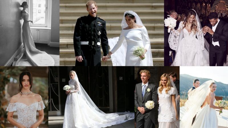 10 個最受女星歡迎的婚紗品牌