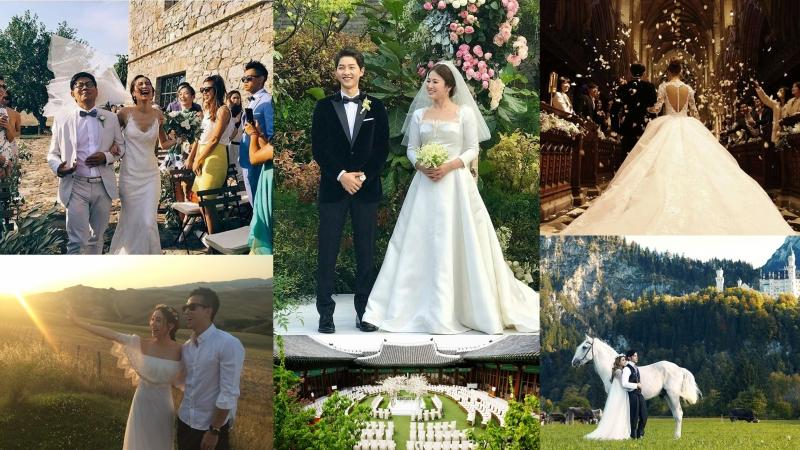 你喜歡怎樣的婚禮?4個令人嚮往的星級婚禮