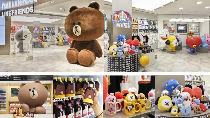 全港最大LINE FRIENDS store帶埋BT21現身apm!