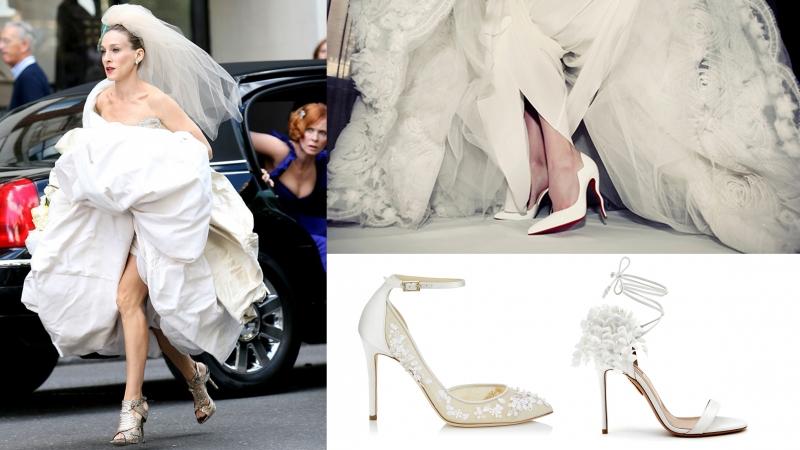 20+最受新娘子歡迎的「玻璃鞋」