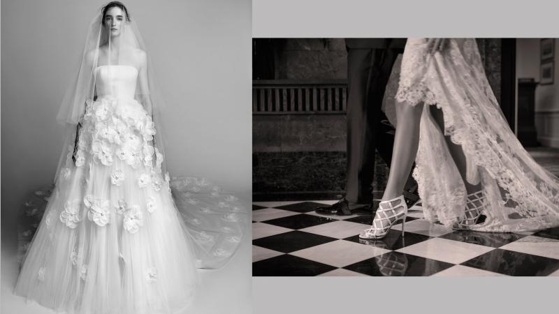 浪漫婚禮 婚紗與高跟鞋的完美配搭