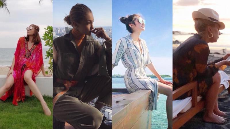 跟阿Sa、Gigi Hadid 打造時尚度假造型!