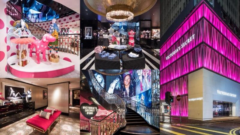 Victoria's Secret香港旗艦店率先睇!帶你遊走店內華麗裝潢