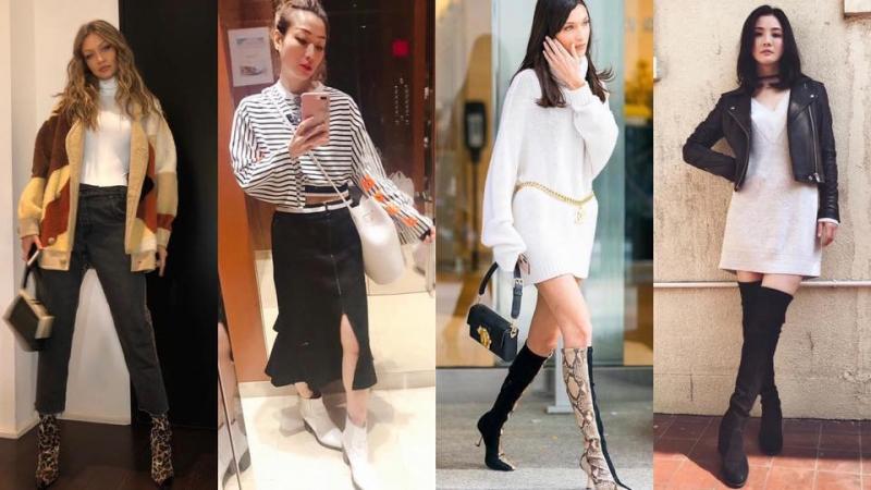潮跟Bella Hadid、Sammi打造長腿booties時尚造型!