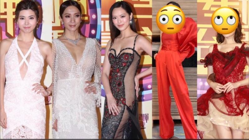 【TVB台慶】台慶女星各出「奇服」,邊位最搶風頭?