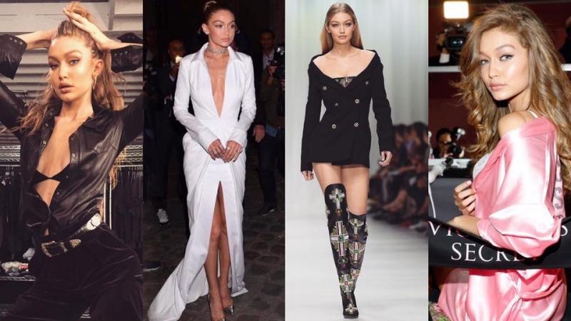 跟時尚超模Gigi Hadid打造台上台下不同造型
