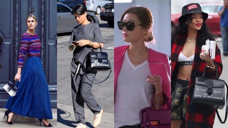 Rihanna、全智賢最愛手袋品牌推出了7款袖珍版手袋!