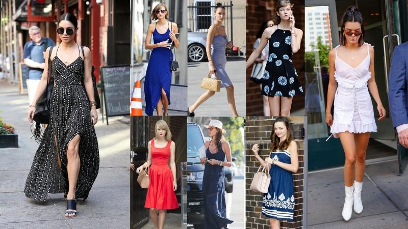 怕熱女生首選 10大女星示範吊帶連身裙