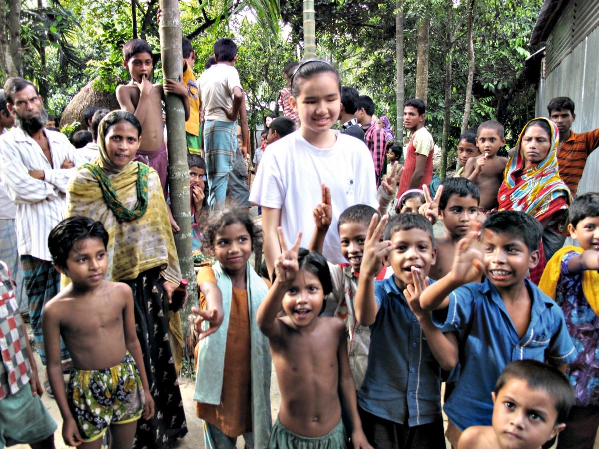 跟隨奧比斯到孟加拉參與救盲活動