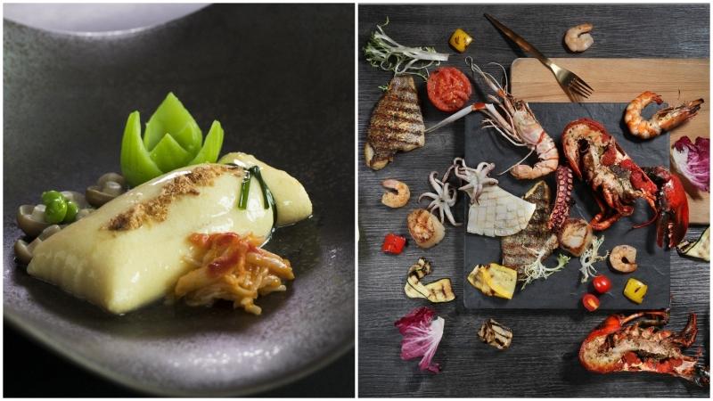 中西對決!睇海景嘆新款海鮮菜式
