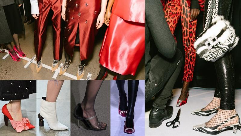 紐約時裝周 10大吸睛鞋款