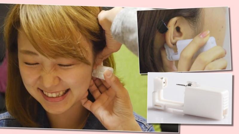 唔驚可怕穿耳傳說!日本女生流行在家打耳窿