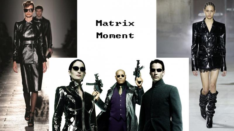 今期流行扮Matrix