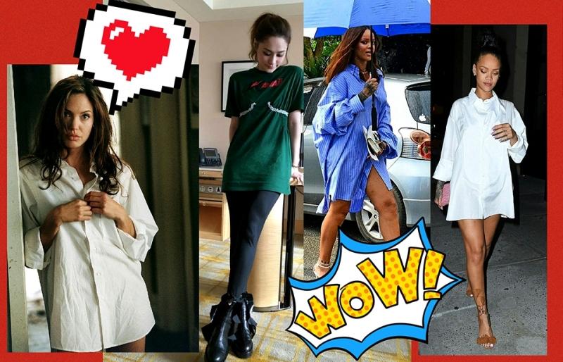 流行教主Rihanna帶頭:唔使著褲,著衫得喇