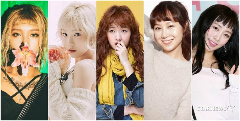 韓國女星熱捧!眉上瀏海新髮式